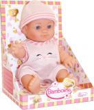 Baby panenka Bambolina Amore miminko 20cm tvrdé tělíčko