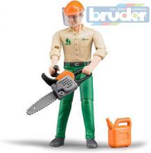 BRUDER 60030 Lesní dělník figurka