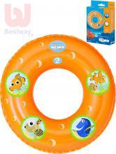 BESTWAY Kruh nafukovací 51cm Hledá se Nemo plavací kolo do vody 91103