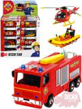 DICKIE Auto Požárník Sam kovové 1:64 různé druhy záchranné složky