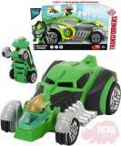 DICKIE Transformers auto s přeměnou robot 15cm Warrior Grimlock Světlo Zvuk