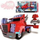 DICKIE Transformers Optimus Prime Battle Truck 23cm na baterie Světlo Zvuk