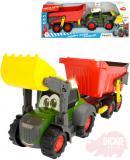 DICKIE Baby traktor Happy Fendt 65cm funkční set s přívěsem na baterie Světlo Zvuk