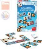 DINO Hra Domino Doba ledová (Ice Age) *SPOLEČENSKÉ HRY*