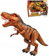 ADC Mighty Megasaur T-Rex chodící dinosaurus 40cm ještěr na baterie Světlo Zvuk