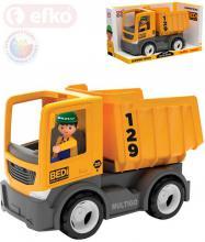 EFKO IGRÁČEK MultiGO Auto nákladní sklápěčka set s řidičem v krabici