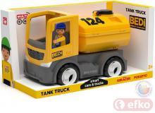 EFKO IGRÁČEK MultiGO BUILD auto cisterna žlutá s řidičem