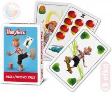 EFKO Hra karetní Hurvínkovo Prší set 32 karet *SPOLEČENSKÉ HRY*