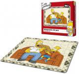 EFKO Mini puzzle The Simpsons Maxi bageta 21x15cm 54 dílků skládačka