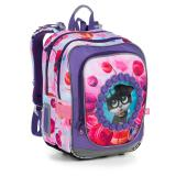 Školní batoh s kočičkami Topgal ENDY 19005 G