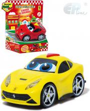 EP Line Baby autíčko Ferrari Berlinetta s očima 2 barvy pro miminko plast
