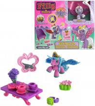 EP Line Filly Stars Glitter hrací set koník s kartou a doplňky v krabici 4 druhy