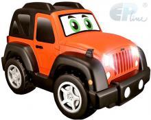 EP Line Baby RC Auto jeep na vysílačku 27MHz s volantem na baterie Světlo Zvuk