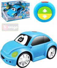 BBURAGO Baby RC Auto Volkswagen Beetle na vysílačku na baterie Světlo Zvuk