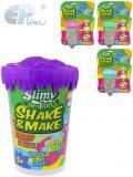 EP Line Slimy Shake and make vyrob si sliz metalický 80g v kelímku 4 barvy na kartě