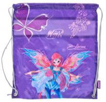 ET Pytlík školní na rameno Winx dětský stahovací batůžek