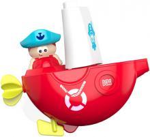 Baby loďka pirátská do vany s přísavkou do vody pro miminko