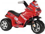 PEG PÉREGO Baby motorka DUCATI MINI EVO 6V tříkolka Elektrické vozítko
