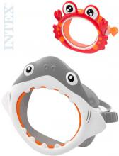 INTEX Brýle potápěčské maska pro děti do vody zvířátko 2 druhy 55915