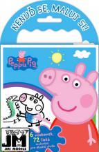 JIRI MODELS Omalovánky na cesty Peppa Pig set s voskovkami a držátkem