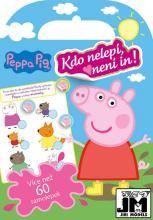 JIRI MODELS Kdo nelepí není in Peppa Pig miniknížka se samolepkami