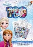 JIRI MODELS Set samolepky 120ks + omalovánky Frozen (Ledové Království)
