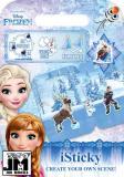 JIRI MODELS iSticky Frozen (Ledové Království) samolepky znovu použitelné