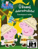 JIRI MODELS Knížka samolepková Úžasná dobrodružství Peppa Pig