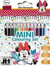 JIRI MODELS Set mini blok + pastelky Disney Minnie Mouse