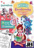 JIRI MODELS Omalovánky A4+ set se samolepkami Enchantimals