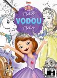 JIRI MODELS Maluj vodou Disney Sofie První omalovánky