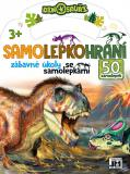 JIRI MODELS Samolepkohraní Dinosauři