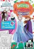 JIRI MODELS Omalovánky A4+ set se samolepkami Frozen 2 (Ledové Království)