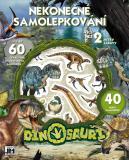 JIRI MODELS Nekonečné samolepkování Dinosauři