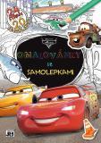 JIRI MODELS Set omalovánky + samolepky Auta (Cars)