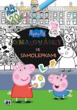 JIRI MODELS Omalovánky A4+ samolepky Peppa Pig