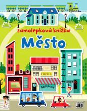 JIRI MODELS Samolepková knížka MĚSTO