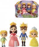 ADC Sofie První 3 královská rodina set mini panenka 4ks plast