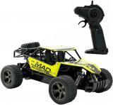 RC Auto Buggy rychlostní 1:18 na vysílačku 2,4GHz na baterie 22cm žlutá