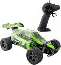RC Auto Buggy rychlostní 1:18 na vysílačku 2,4GHz na baterie 22cm zelená