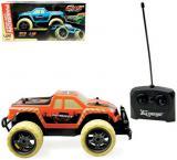 RC Auto džíp terénní off-road 1:18 na vysílačku 27MHz na baterie 2 barvy