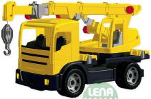 LENA Autojeřáb 2176 na písek 70 cm (auto jeřáb) 100 kg