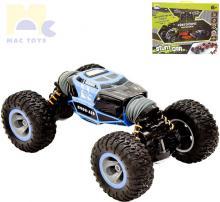 MAC TOYS RC Auto Stunt car 33cm na vysílačku 2,4GHz převracecí na baterie