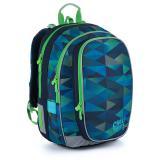 Modrozelený školní batoh Topgal MIRA 21019 B