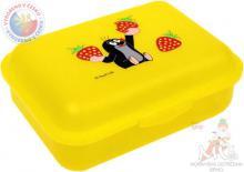 MORAVSKÁ ÚSTŘEDNA Krtek Box svačinový jahody - žlutý