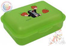 MORAVSKÁ ÚSTŘEDNA Krtek Box svačinový jahody - zelený