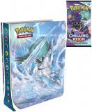 ADC HRA Pokémon SWSH06 Chilling Reign Mini album na 60 karet + Booster 10 karet