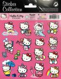 Samolepky 16ks kočička Hello Kitty 1 arch v sáčku