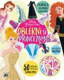 JIRI MODELS Oblékni si Princezny kreativní set se samolepkami Princess