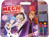 JIRI MODELS Mega omalovánkový set Frozen 2 s voskovkami a barvičkami